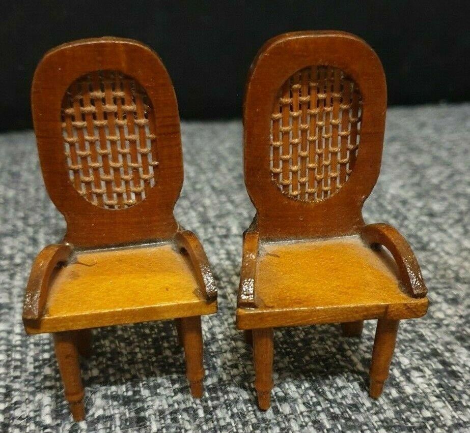 Puppenstube 2 Stuhle Stuhl Holz Puppenhaus Stuhl Holz Puppenstube Puppenhaus