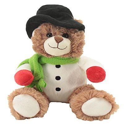 "Trim A Home® 9"" Mini Dressed Up Christmas Bear Asst - Snowman"