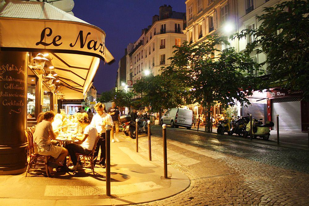 Paris at night part 1 nightlife and france for Romantic evening in paris