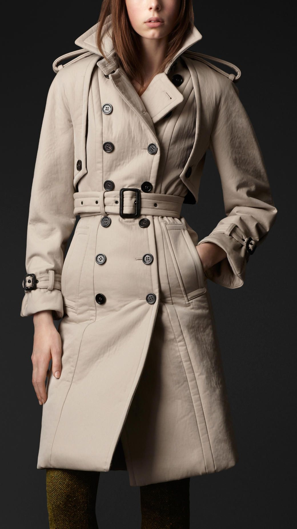 1000  images about Trench on Pinterest | Wool White trench coat