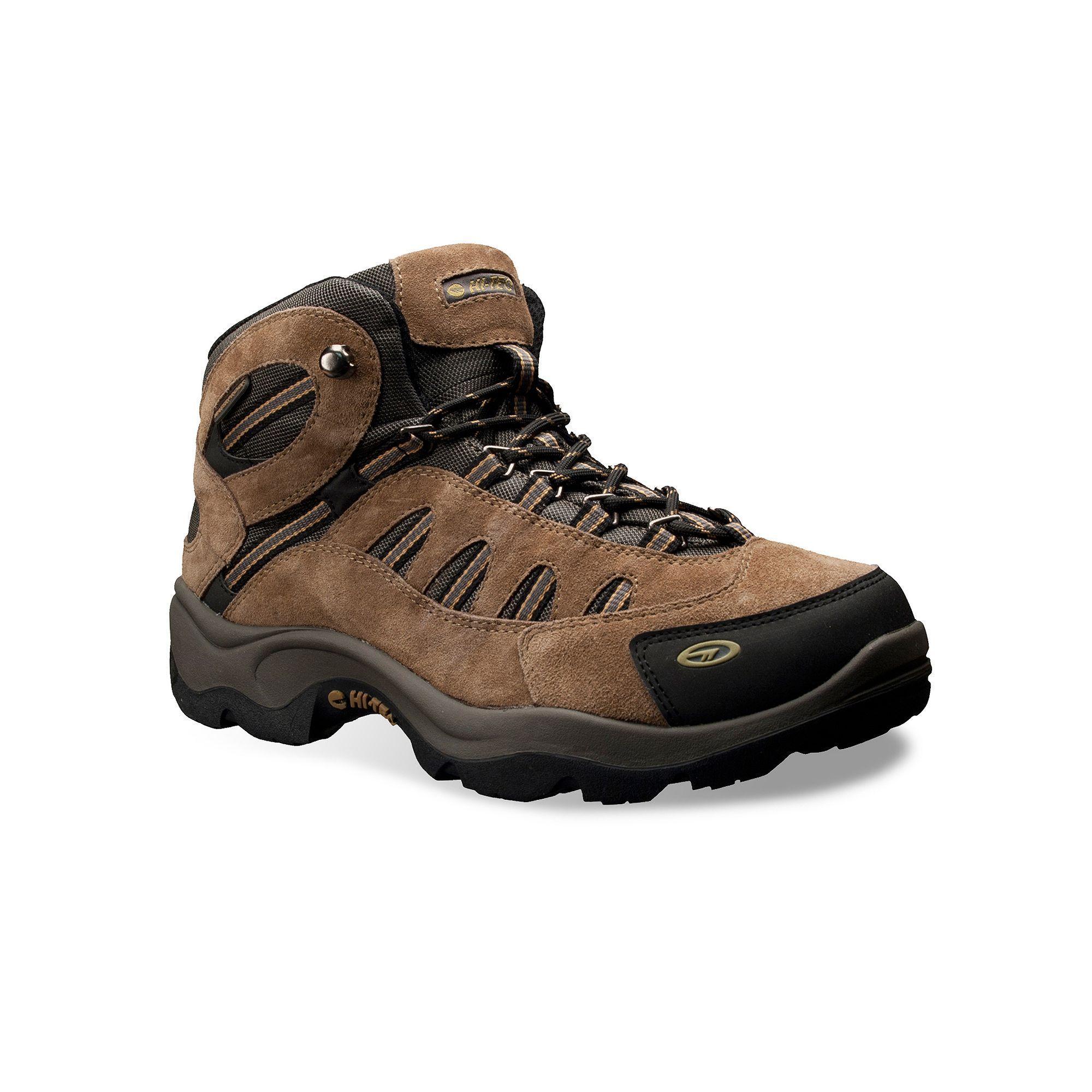 Hi-Tec Bandera Men's Mid-Top Waterproof Hiking Boots, Size: 12 ...