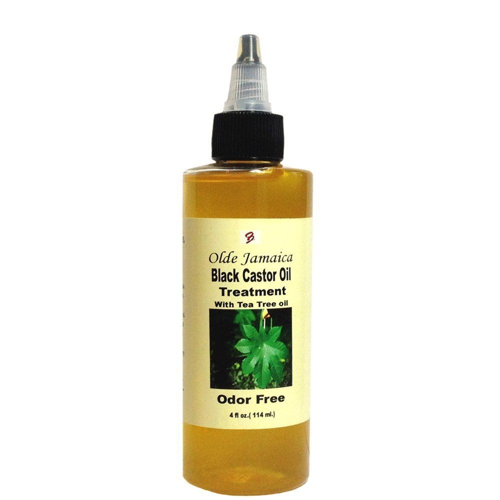 Olde Jamaica Black Castor Oil ODOR FREE Castor Oil Hair Treatment