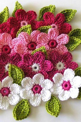 Crochet Flower Tutorial Download Crochet Flower Tutorial 12