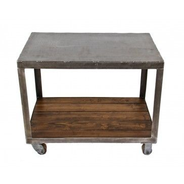 Fully Functional Multi Purpose American Industrial Mobile Supply Cart Or  Workstation Salvaged From A Chicago Based Specialty Metal Office Furniture  Company ...