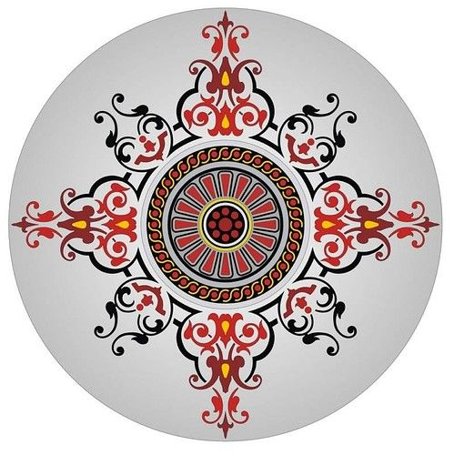 round ornament patterns free patterns picture on VisualizeUs
