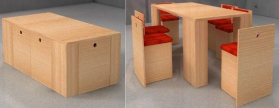 Kubos Dining Table Suits Small Spaces With Minimal Design