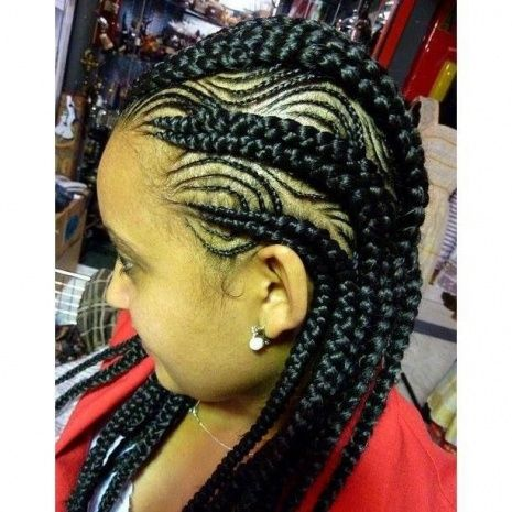 Charming Iverson Braids Hairstyles