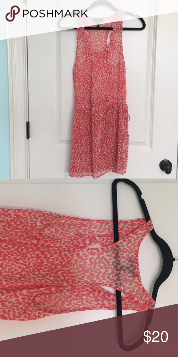 732486ea7541 Aqua from Bloomingdales dress Lightweight summer dress with Razorback.  Skirt part of dress is lined Aqua Dresses Mini