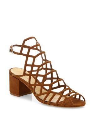 SCHUTZ. Caged SandalsShoes SandalsBlock HeelsSaddlesRoping ...