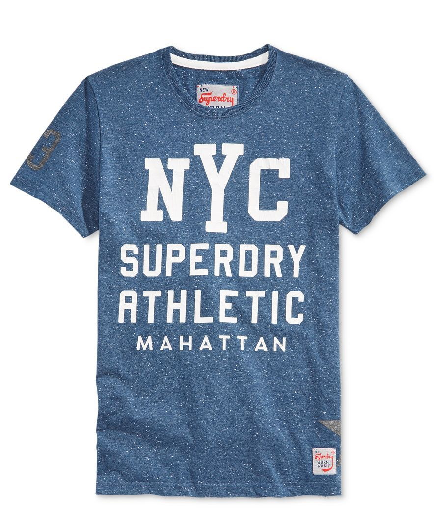 Superdry Men's Nyc Athletic Graphic-Print T-Shirt