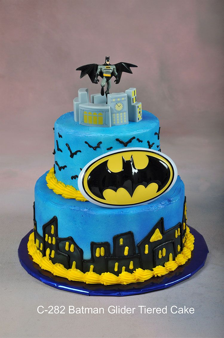 Batman castles cakes | 282 Batman Glider Tiered Cake | Books Worth ...