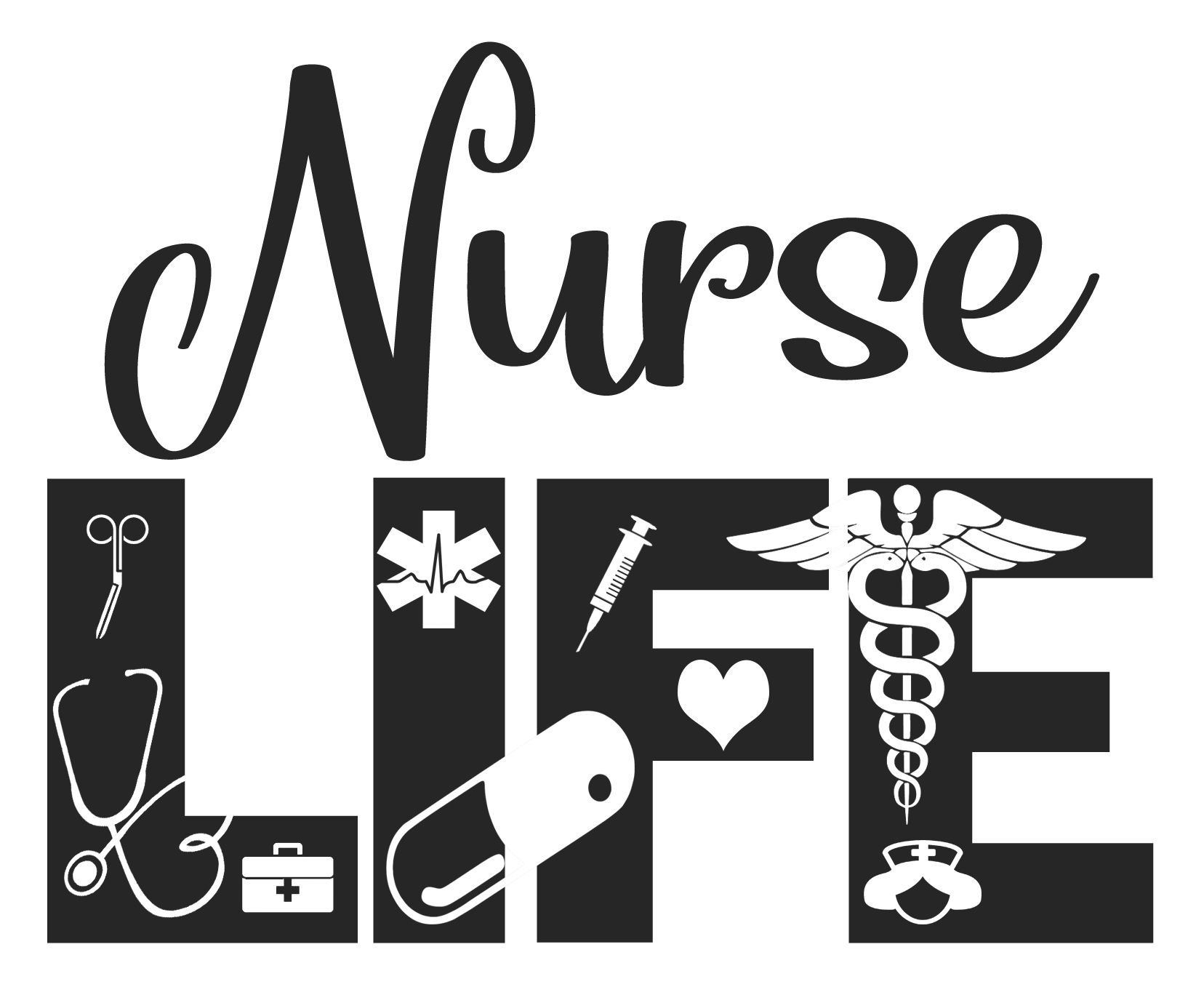 Silhouette Instant download files for Cricut Design Space or more Nurse Life Police Mom SVG PNG Cut file Printing Design Cameo DXF
