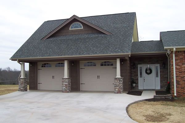 Comforting 3 Car Carriage House Plan 29827rl: 2 Car Garage With Apartment