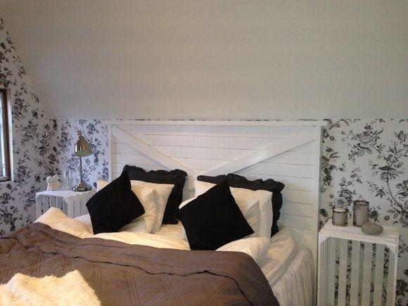 Berömda sänggavel,sänggavel vit trä,sovrum | Hemmastil | Sänggavel TH-02
