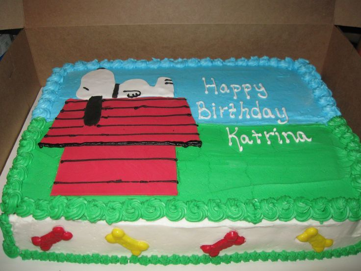 Snoopy cake Birthday cakes Pinterest Snoopy cake Snoopy and
