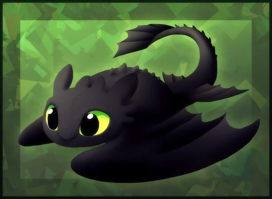 Cute Toothless Wallpaper