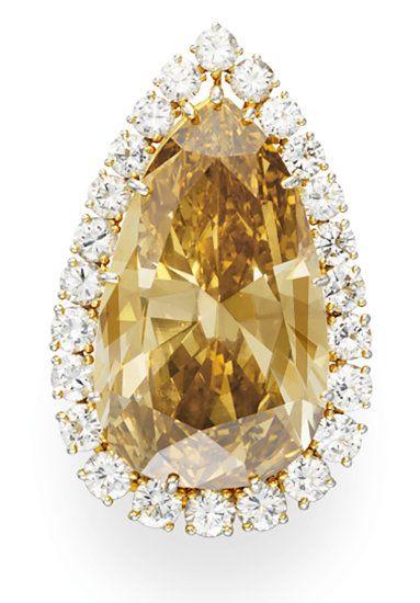 Van Cleef & Arpels Burton Cognac diamond ring
