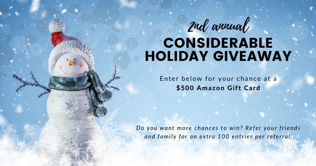 Win A 500 Amazon Gift Card By Entering Through My Special