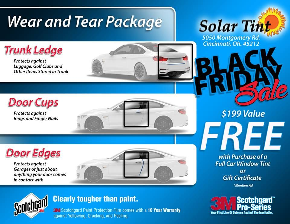 Today Is The Last Day To Take Advantage Of Our Black Friday Sale Give Us A Call Now 513 829 Tint Blackfriday 3m Window Film Cincinnati Tints