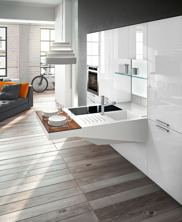 Snaidero BOARD Kitchen Design Aims To Offer An Industrial Solution To The  Evolution In The Contemporary