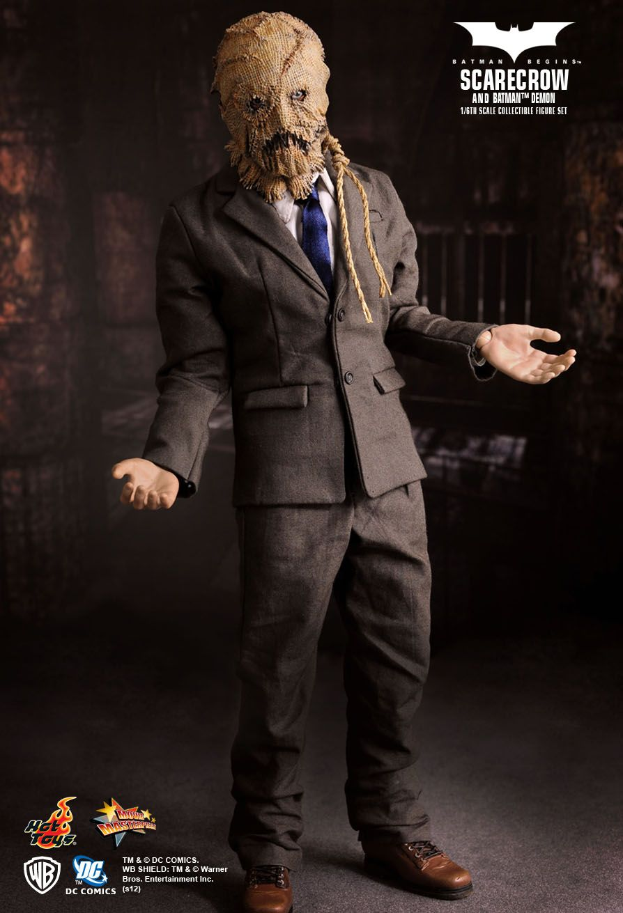1//6 Batman Scarecrow Model Jonathan Crane Super Villain Full Set Collection Gift