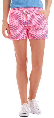 Vineyard Vines Simple Whale Tail Print Performance Shorts