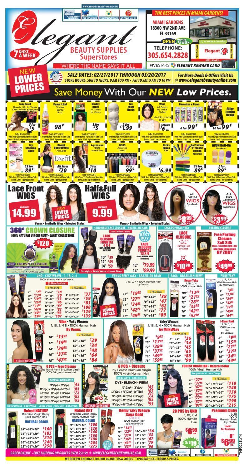 Elegant Beauty Supplies Super Stores Save On Specials Pinterest