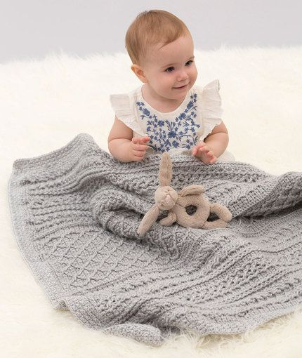 Cable Your Love Blanket Free Crochet Pattern In Red Heart Yarns