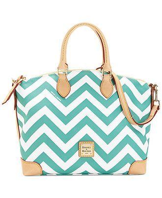 Dooney Bourke Chevron Satchel Satchels Handbags Accessories Macy S