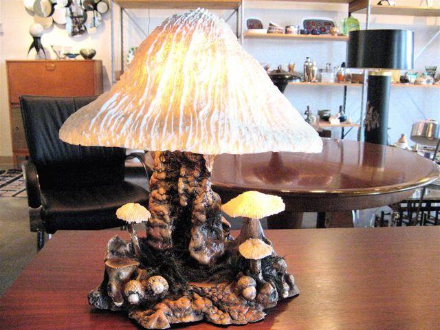 Mushroom Table Lamp ~ Wouldnu0027t It Be Fun With Fairies? Amber GlassGlass  ShadesMushroomsHome ... Good Looking
