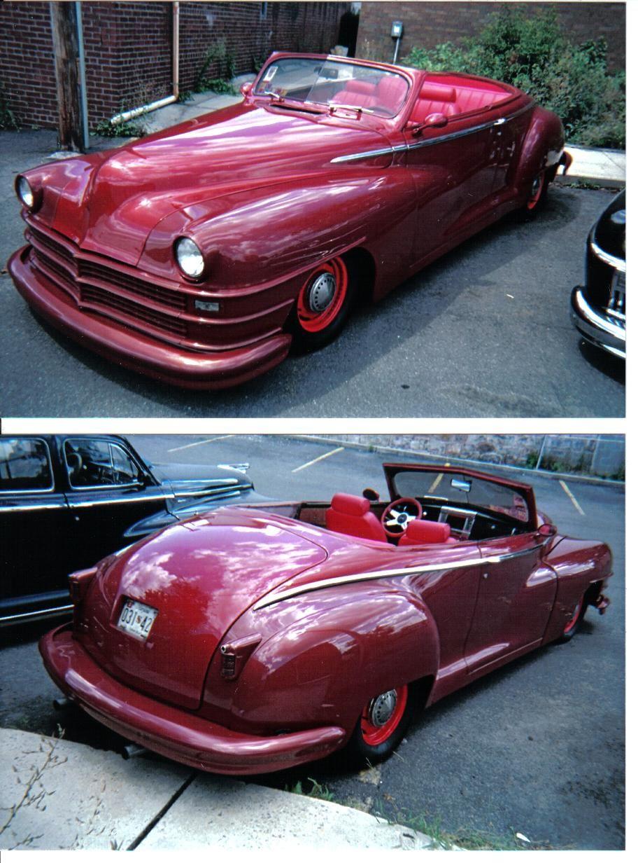 '48 Chrysler custom convertible Chrysler, Cars trucks