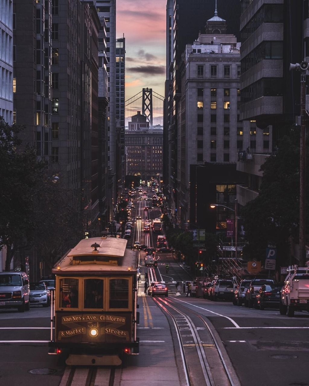 California St in San Francisco by Chris Henderson | Places ...