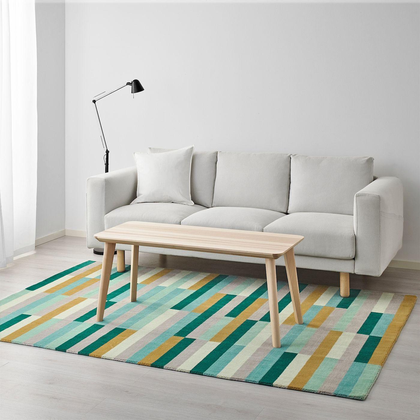 IKEA KRONGE Handmade, Multicolor Rug, low pile in 2020 ...