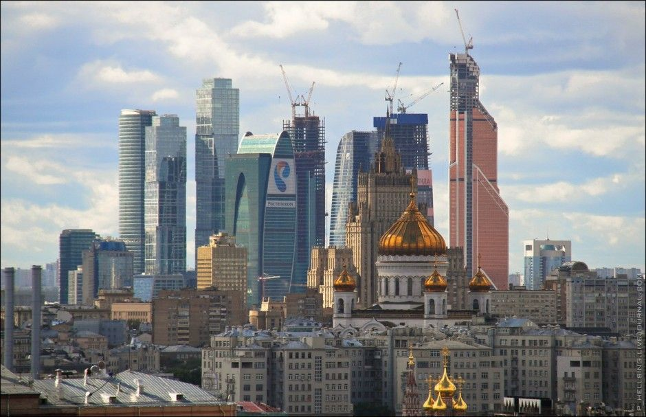 40 Of The World S Most Impressive Skylines Skyline Moscow World