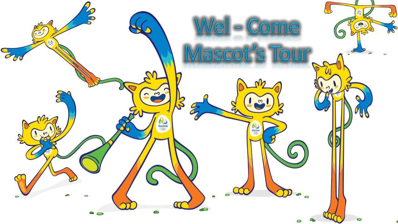 Rio2016 Olympics Mascots and Olympic Mascots History 19722016