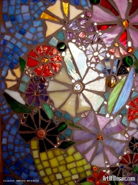 Indigo Mosaics
