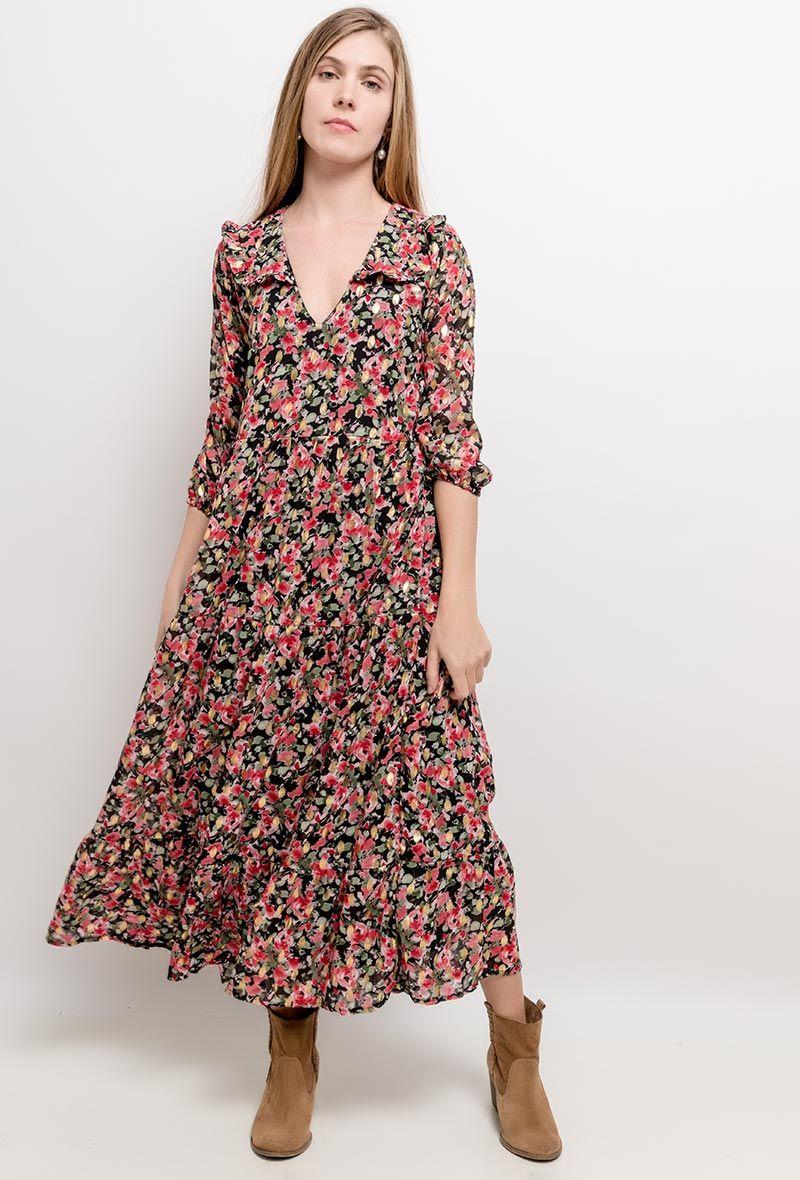 long dress pink gold | online kaufen | lange kleider