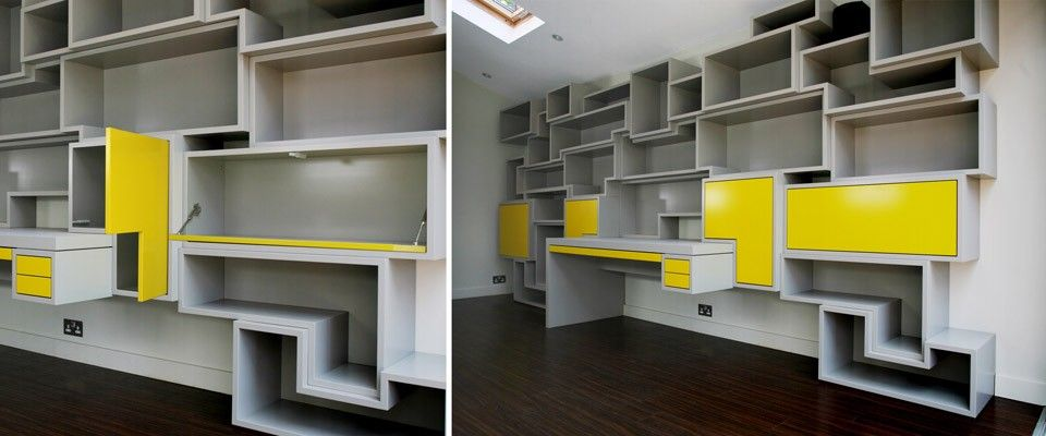 Bespoke home office - Couture Furniture London