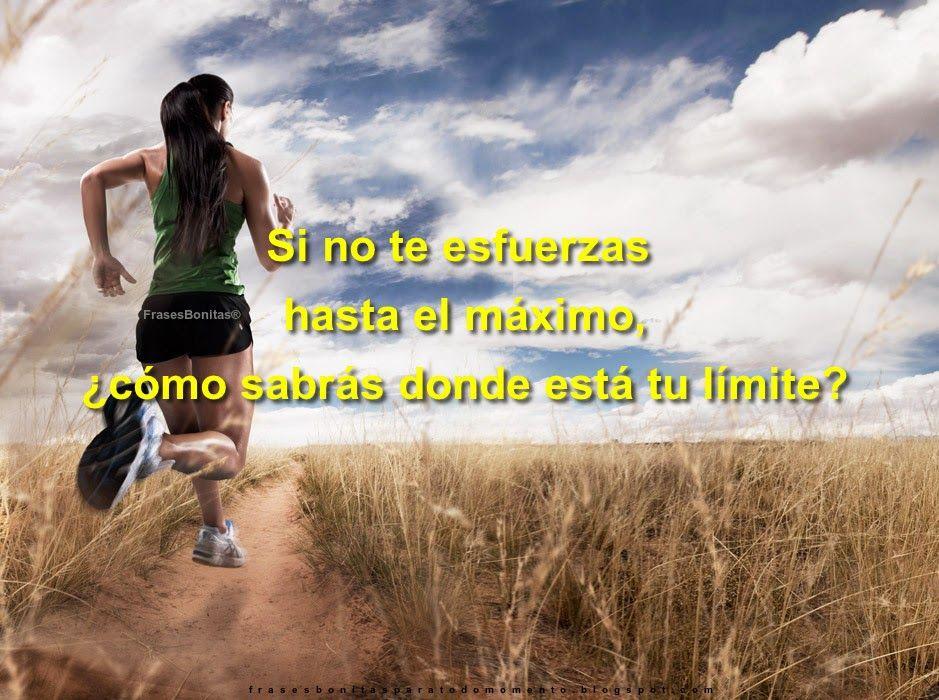 Si no te esfuerzas hasta el máximo, ¿cómo sabrás donde está tu límite? 🏃 #fitness #deportivas #perde...