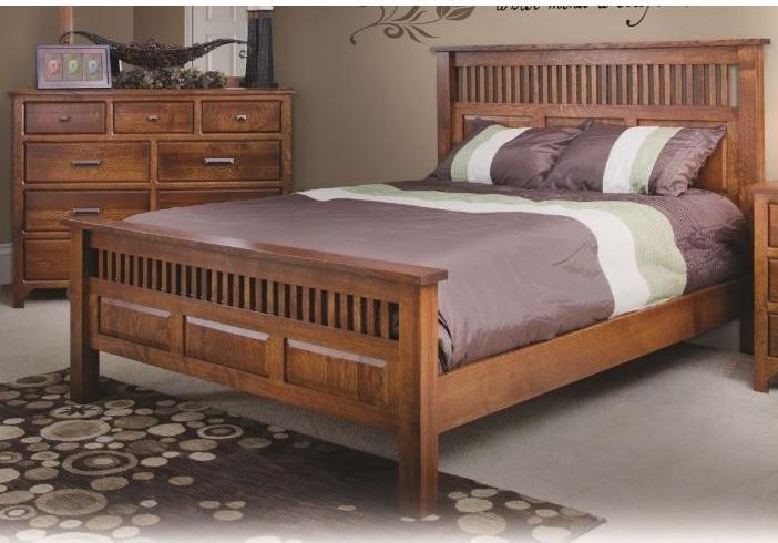 Old World Mission Slat Bed Craftsman Panel Beds By Quality Woods Furniture Wooden Bedroom Furniture Mission Style Furniture Oak Bedroom Furniture