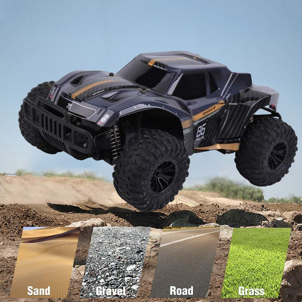 Amazon Com Dexop Newest Rc Cars 2 4ghz 20km H High Speed Remote Control Car 1 16 Scale Rc Truck Radio Control Vehic Monster Trucks Rc Cars Remote Control Cars