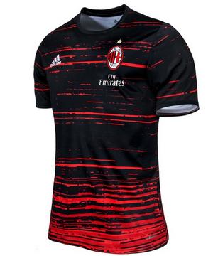 Camiseta pre-partido AC Milan 2017 Ac Milan a9eab901bbfe3