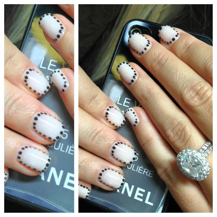 Cnd Nail Design Images - simple nail design ideas for beginners