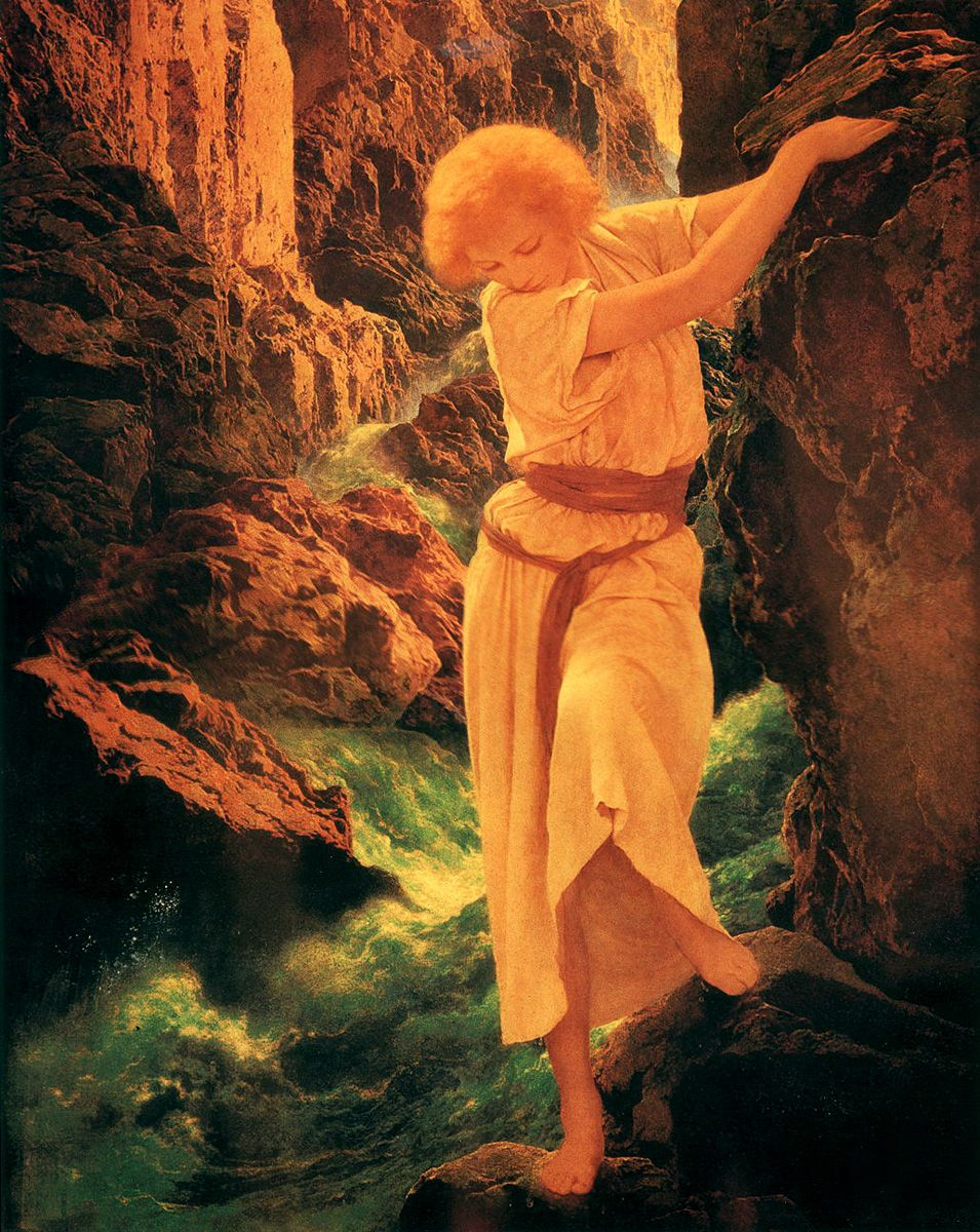 Be. Now maxfield parrish swinging girl speaking