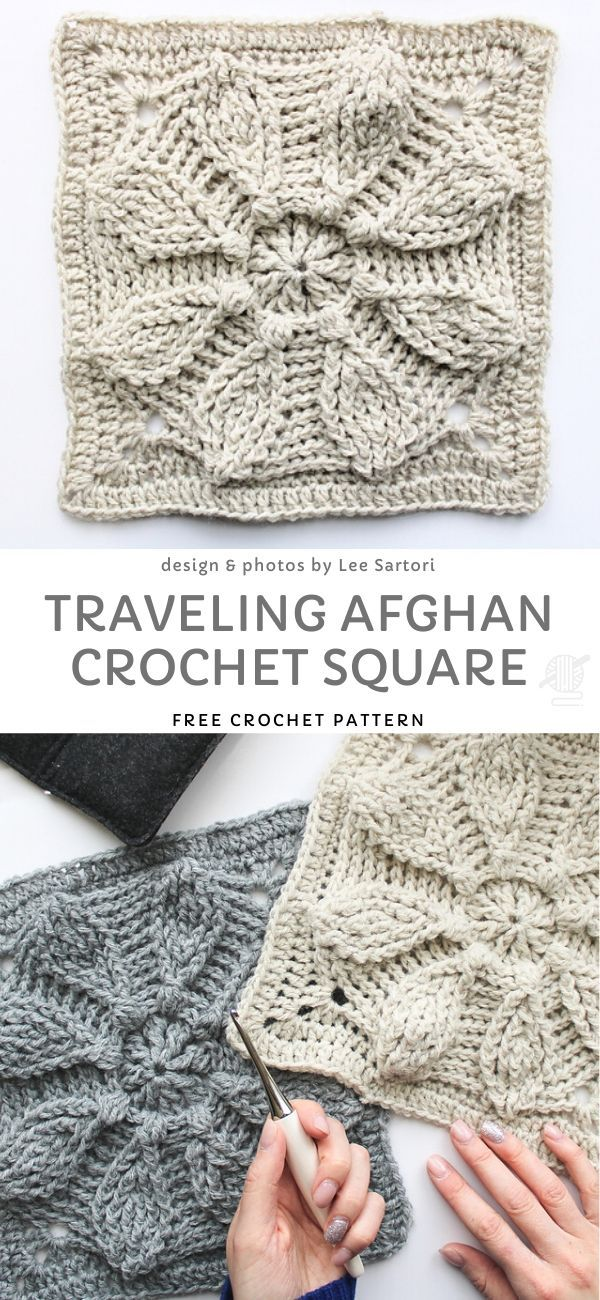 Beautiful Crochet Mandala Squares