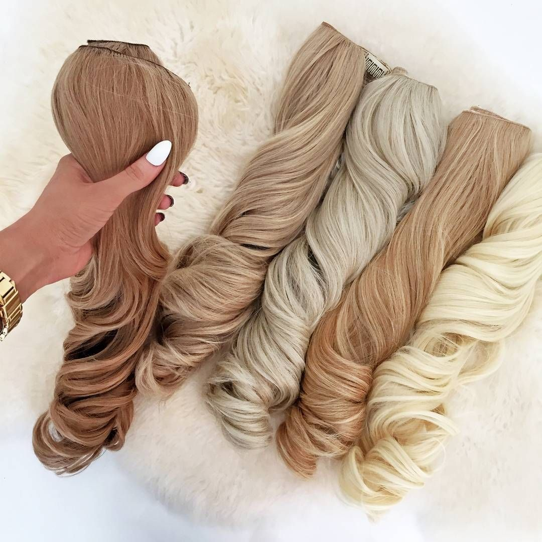 Get your glam on with our extreme volume clip in hair extensions get your glam on with our extreme volume clip in hair extensions need a colour match dm us and we will colour match you up pmusecretfo Images