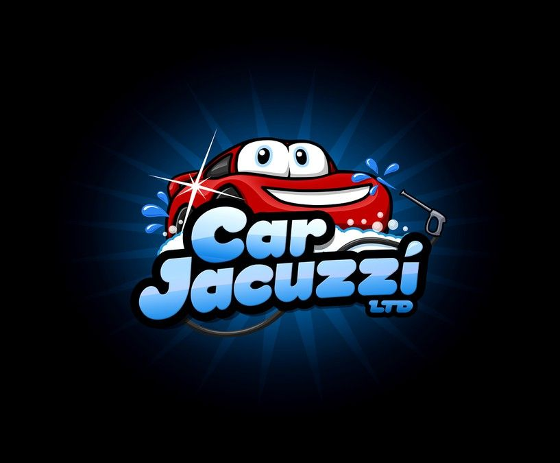 Logo for CAR JACUZZI LTD - a NEW Hand Car Wash Business (with ...