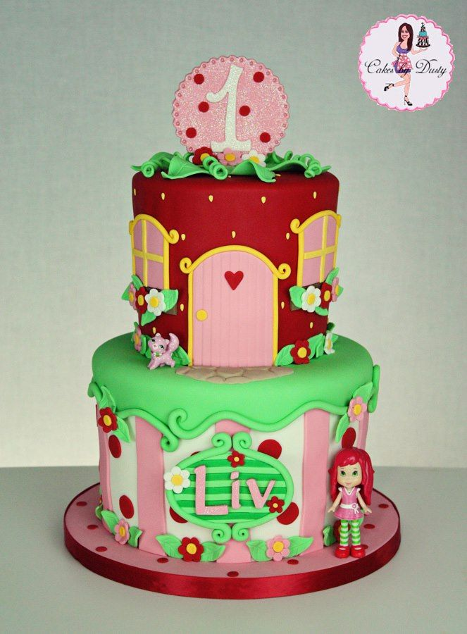 Strawberry Shortcake by Cakes by Dusty