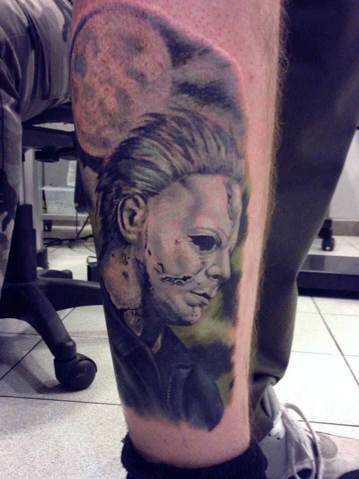 Michael myers halloween tattoos pinterest tattoo for Michael myers tattoo