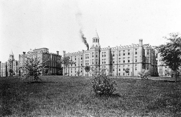 The East Tennessee Insane Asylum Now Called Lakeshore Mental Health